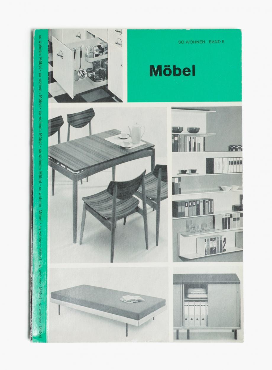 """Publikation """"So Wohnen"""", Band 5 zum Thema Möbel, Werkbundarchiv - Museum der Dinge"""