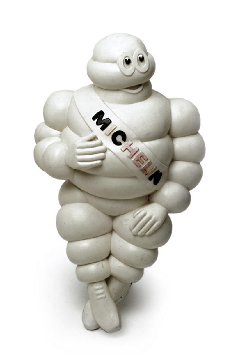 """Michelin Werbefigur """"Bibendum"""", Sammlung Werkbundarchiv - Museum der Dinge"""