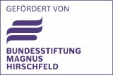 Logo gefördert von der Bundesstiftung Magnus Hirschfeld