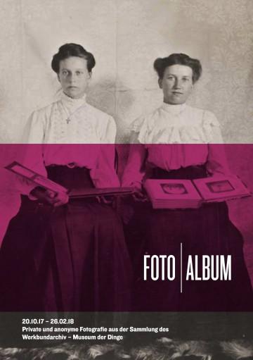 Flyer FOTO   ALBUM Vorderseite, Gestaltung: Rose Epple