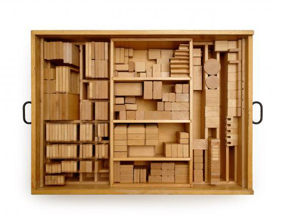Modellbaukasten der Berliner Wohnberatungsstelle, 1960er Jahre, Fotograf: Armin Herrmann, Werkbundarchiv – Museum der Dinge
