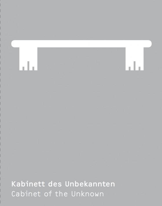 Flyer 'Kabinett des Unbekannten', Gestaltung: Mischen
