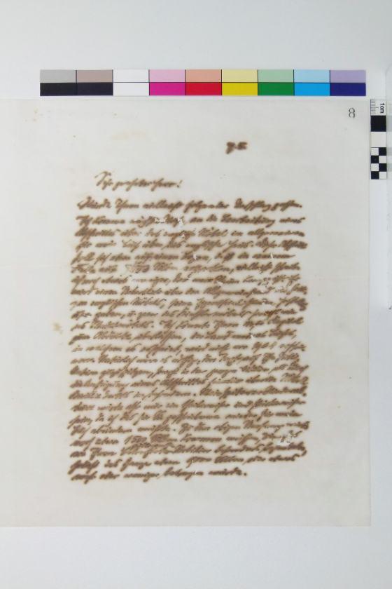 Muthesius Buch nach Restaurierung, Sammlung Werkbundarchiv - Museum der Dinge