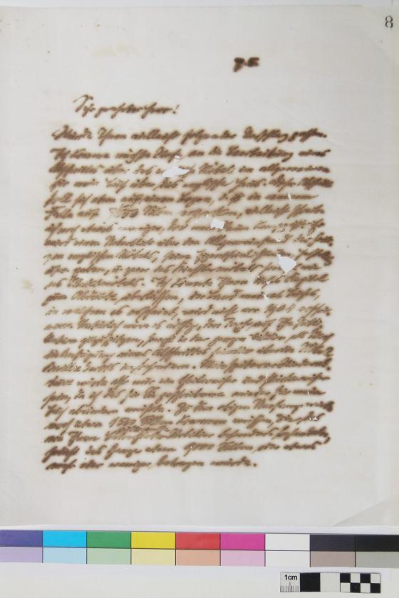 Muthesius Buch vor Restaurierung, Sammlung Werkbundarchiv - Museum der Dinge
